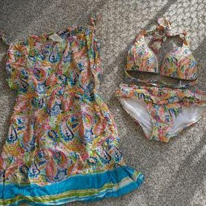 Ralph Lauren bikini and coverup
